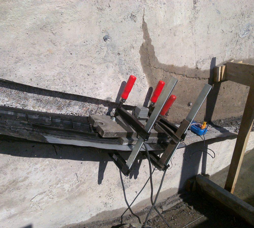 Sanierung FMS Fugenband